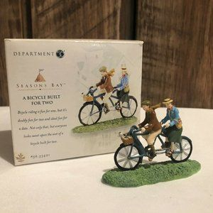 Dept 56 Seasons Bay Bicycle Built for Two 53421